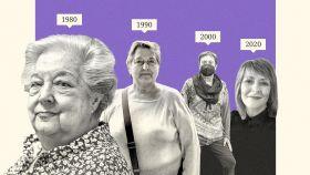 Ana María, Mari Ángeles, Rosa y Helena. Cuatro mujeres que se divorciaron en distintas décadas.