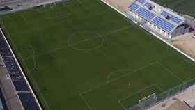 El estadio Antonio Solana de Villafranqueza, la nueva sede del Intercity, un equipo que se empadrona definitivamente en Alicante.