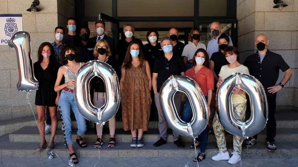 'Servir y proteger' celebrará de forma especial sus 1.000 episodios.