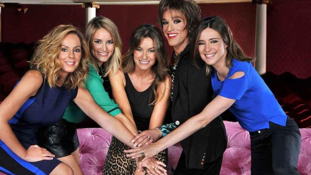'Hable con ellas' se emitió entre 2014  y 2016 en Telecinco.