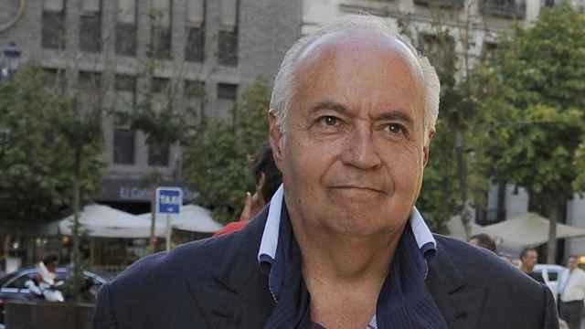 José Luis Moreno en las calles de Madrid.