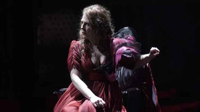 Sondra Radvanovsky, durante el estreno de 'Tosca'.