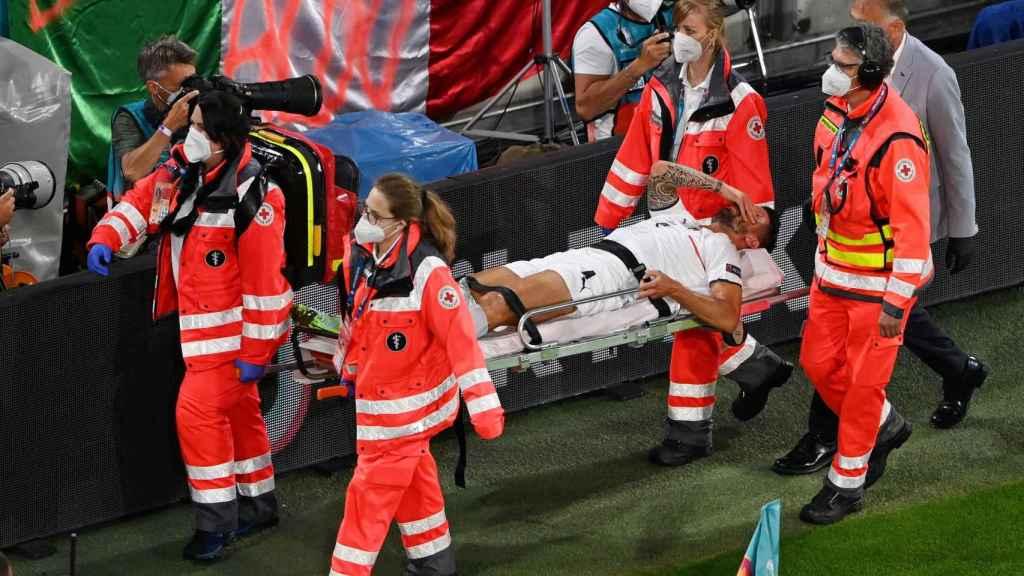Spinazzola, lesionado en la Eurocopa