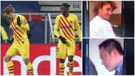 Rakuten amenaza al Barça por la polémica racista de Griezmann y Dembélé