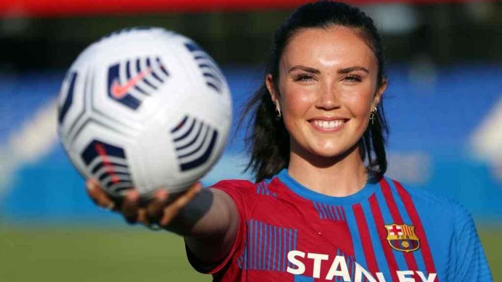 Ingrid Engen, fichaje del FC Barcelona Femenino hasta 2023