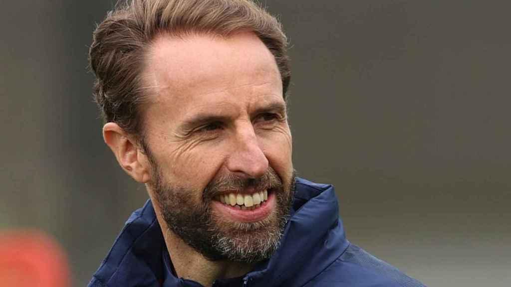 Gareth Southgate, entrenador de la selección de Inglaterra