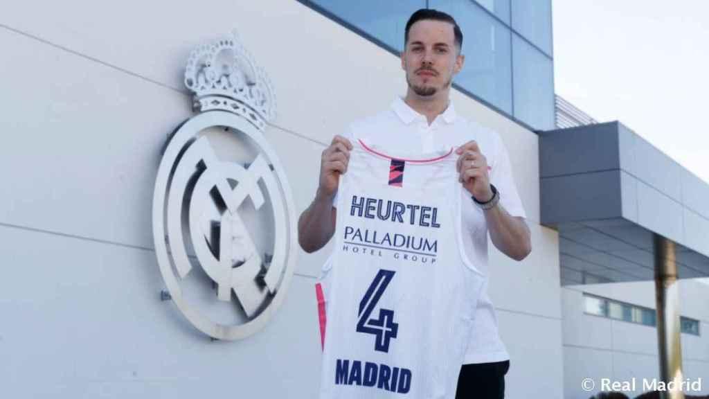 Thomas Heurtel ficha por el Real Madrid