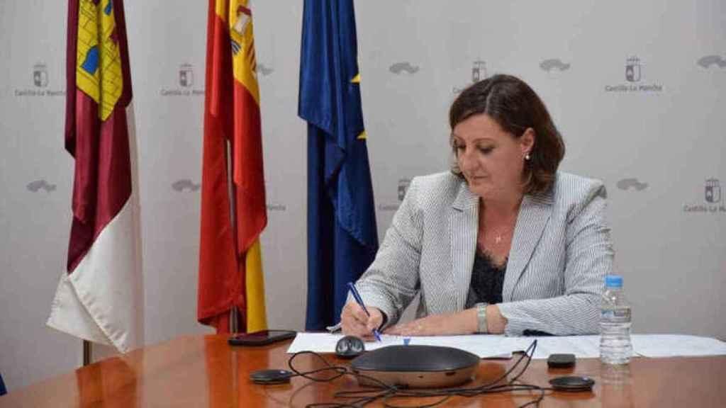 Patricia Franco, consejera de Economía, Empresas y Empleo. Foto: El Español.