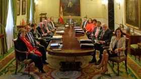 Los miembros del Tribunal de Cuentas, en una imagen de archivo./