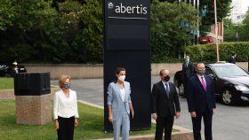 La Reina Letizia ha mostrado su apoyo a la labor de Abertis, Fundación Abertis y UNICEF