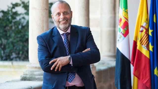 El consejero de Economía, Ciencia y Agenda Digital de Extremadura, Rafael España.