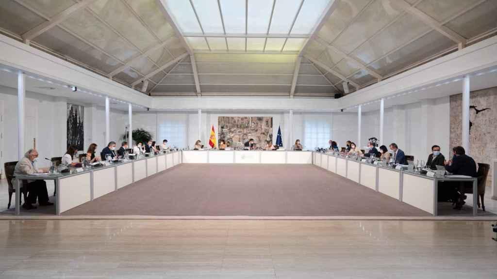 El Consejo de Ministros de este martes.