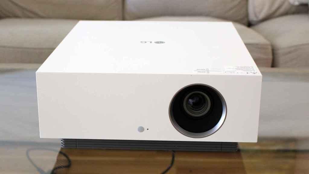 El proyector de LG para tener un cine en casa.