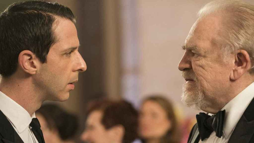 Jeremy Strong y Brian Cox en la esperada temporada 3 de 'Succession'.