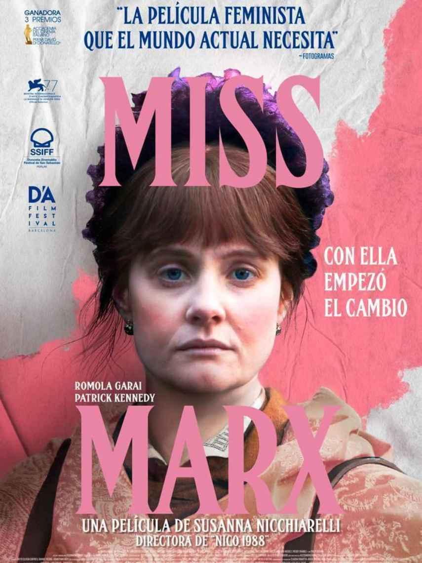 Poster de la película 'Miss Marx'.