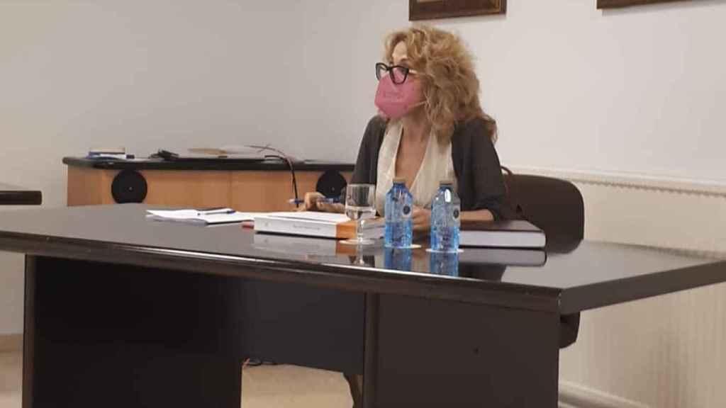 Lectura de la tesis doctoral de Concepción Torres en la UA.