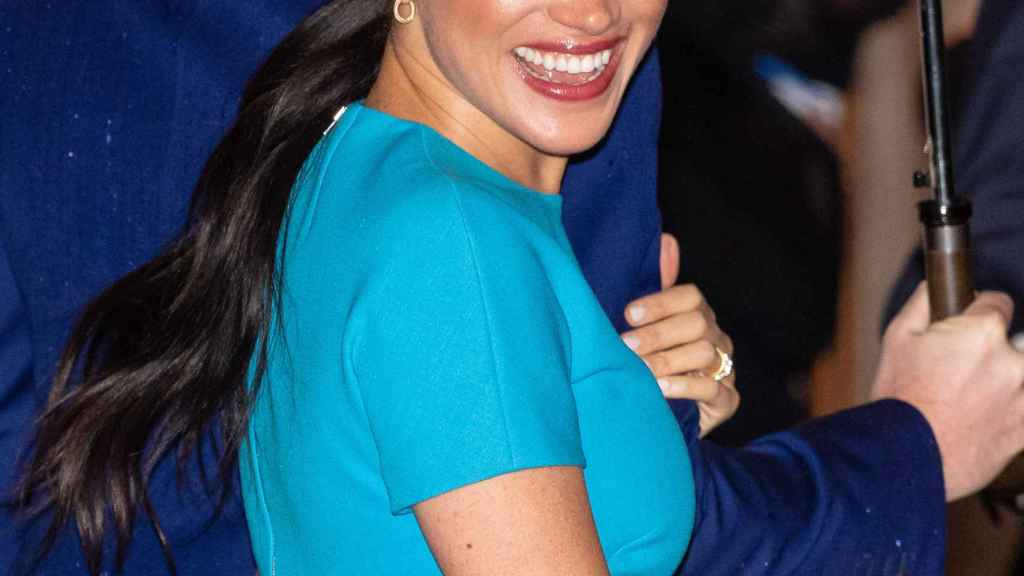 Meghan Markle in one of her last appearances as an active member of the British royal household.