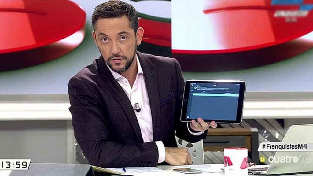 Javier Ruiz al frente de 'Las mañanas de Cuatro'