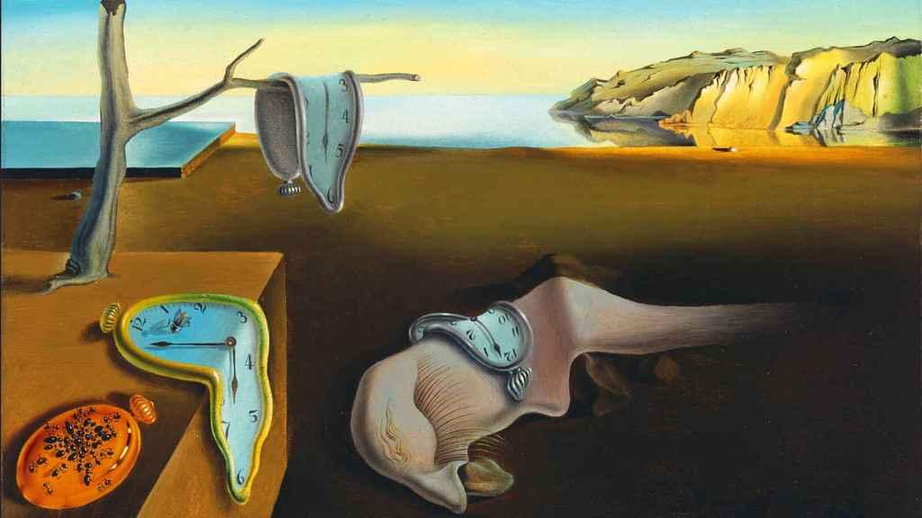 La persistencia de la memoria, cuadro de Salvador Dalí.