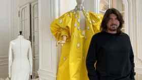 El diseñador francés de Alta Costura Stéphane Rolland.