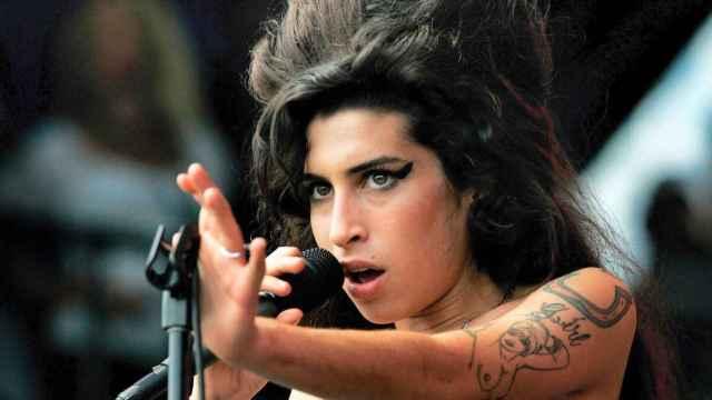 La artista Amy Winehouse.