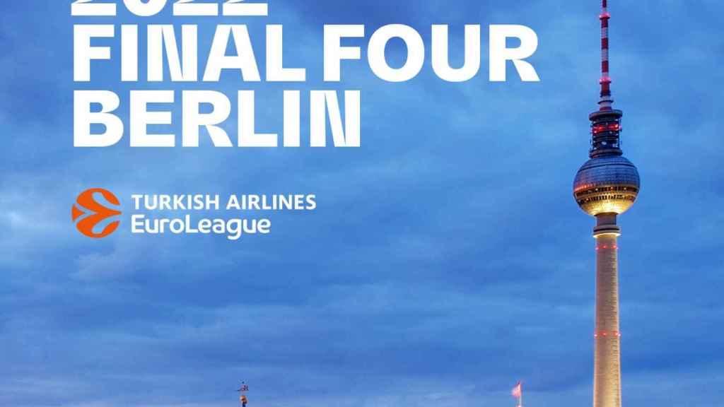 La Euroliga mantiene la Final Four en Alemania: Berlín, sede para 2022