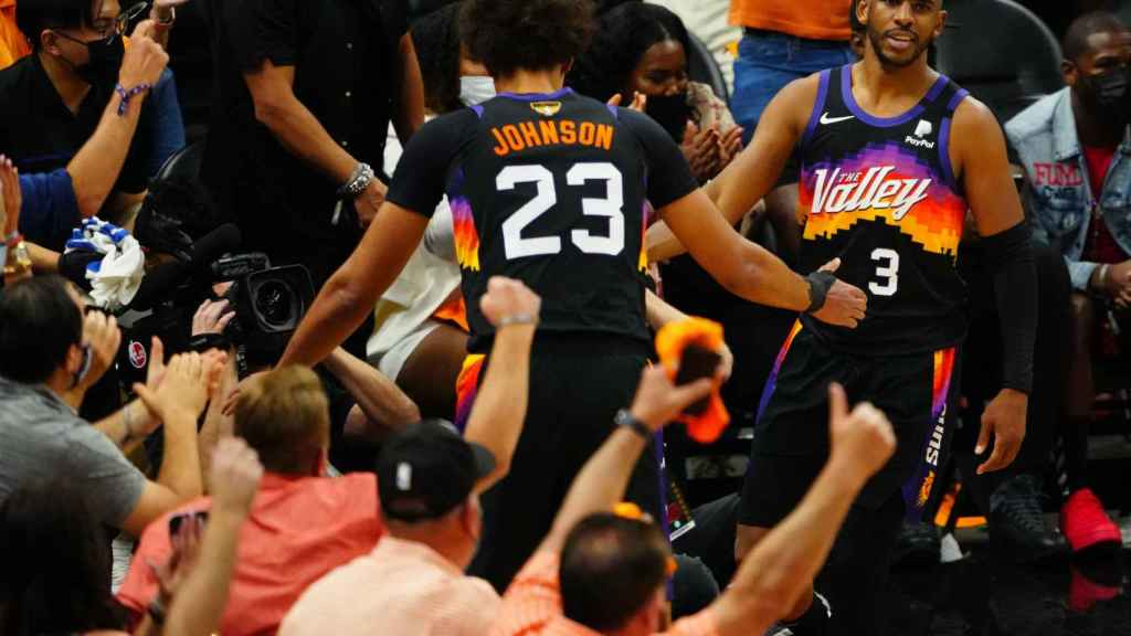 Chris Paul, con los Phoenix Suns