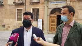 El concejal de Tecnologías de la Información y las Comunicaciones de Talavera de la Reina, Daniel Tito, en el webinar organizado por Telefónica