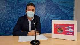 Pablo García, concejal de Juventud de Toledo
