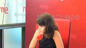 La portavoz nacional de Podemos, Isa Serra, este miércoles en RNE.