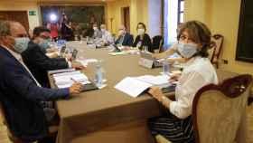 Reunión del Consejo Fiscal en el Pazo de Mariñán (A Coruña)./