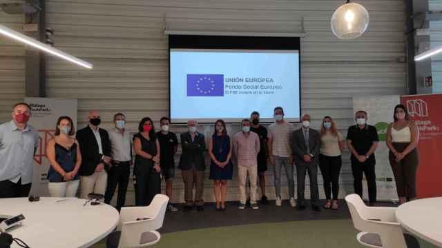 Participantes en la primera edición de 'MálagaAI'. FOTO: Ayto. Málaga.