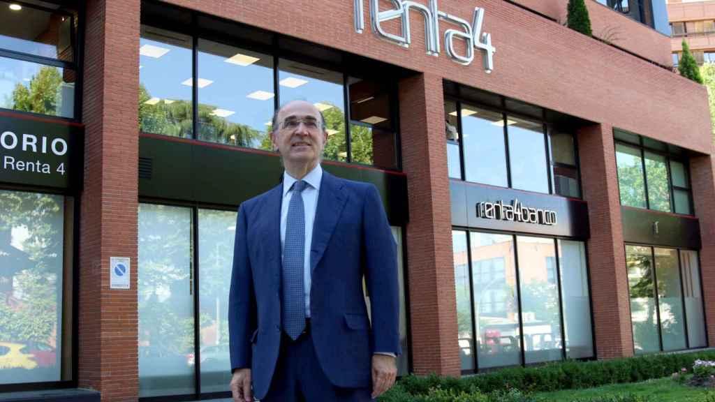 Elías Rodríguez-Viña, director general de Renta 4 Corporate.