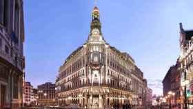 Fachada del Centro Canalejas en Madrid.