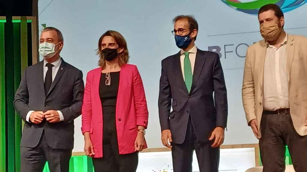 Ribera: La crisis climática no solo va de reducir emisiones de CO2 e implica a todos