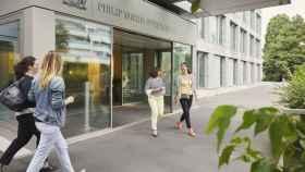 Centro de Operaciones de Philip Morris en Lausana, Suiza.