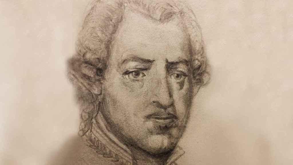 Un retrato del malagueño Luis de Unzaga