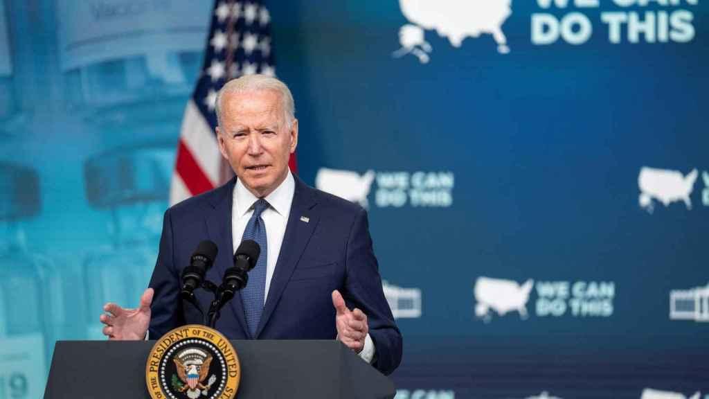El presidente de Estados Unidos, Joe Biden. Efe