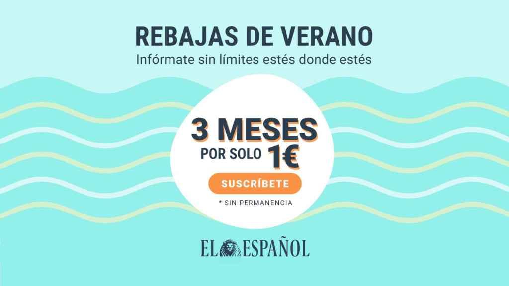 Apúntate a las rebajas de verano de EL ESPAÑOL: tres meses por 1 euro