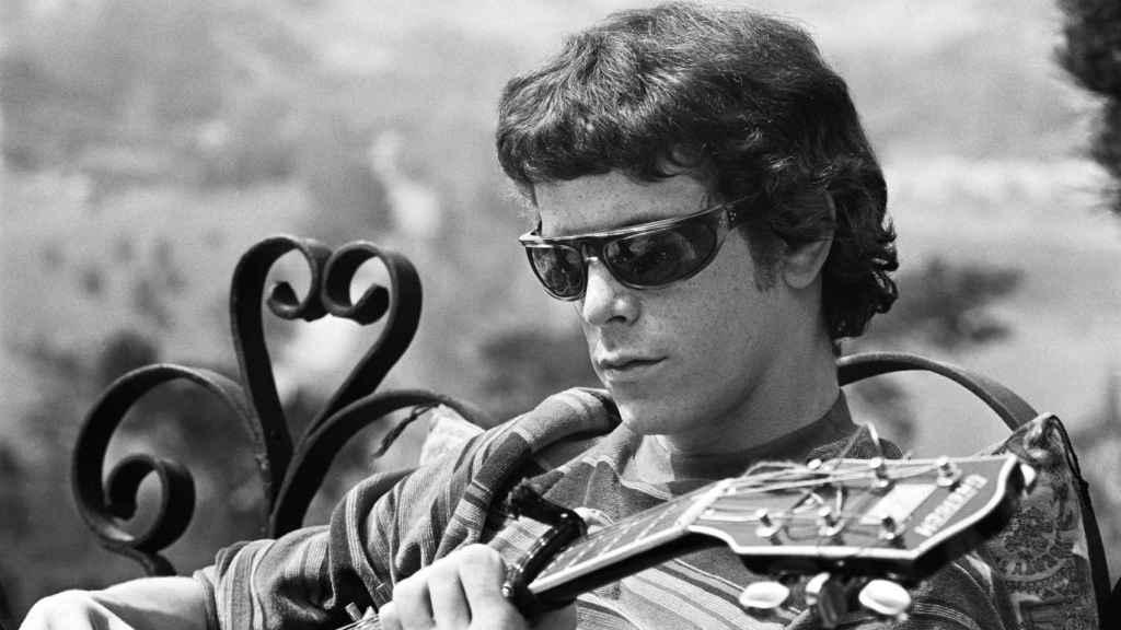 Lou Reed en el documental.
