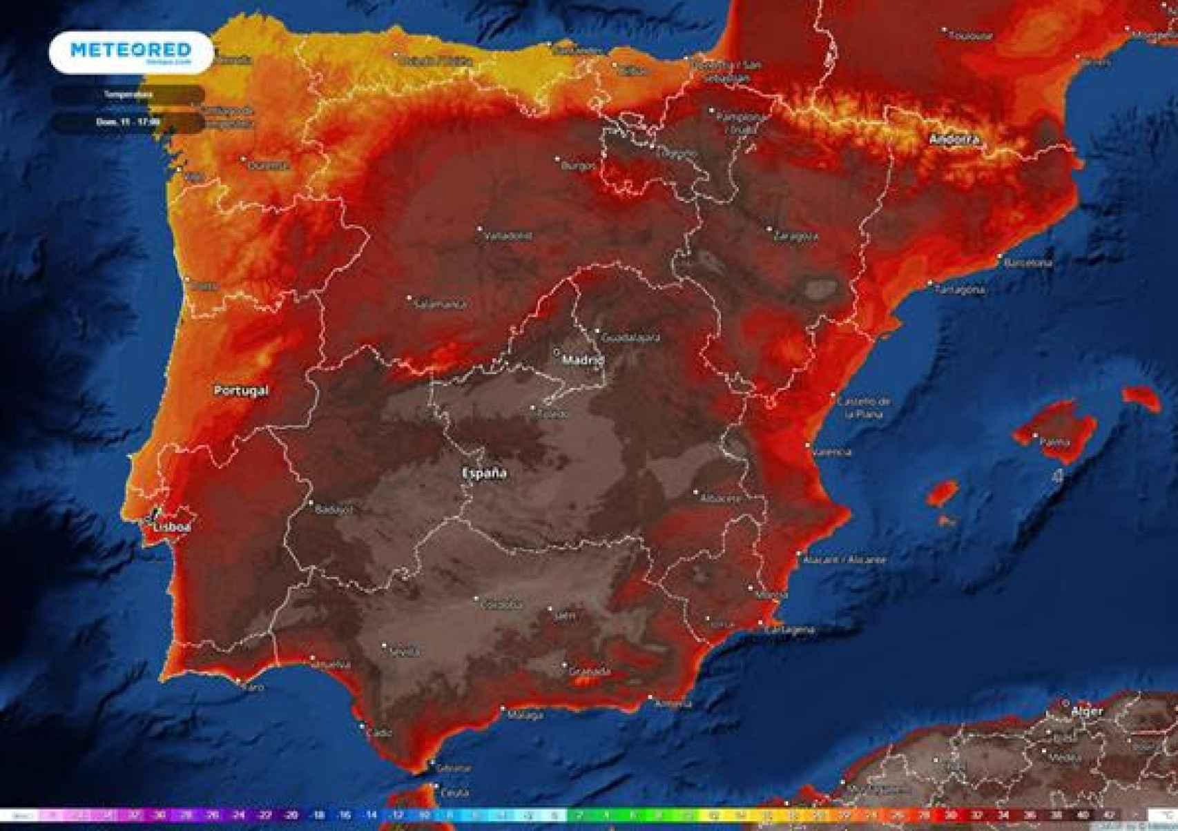 Ola de calor extrema en España