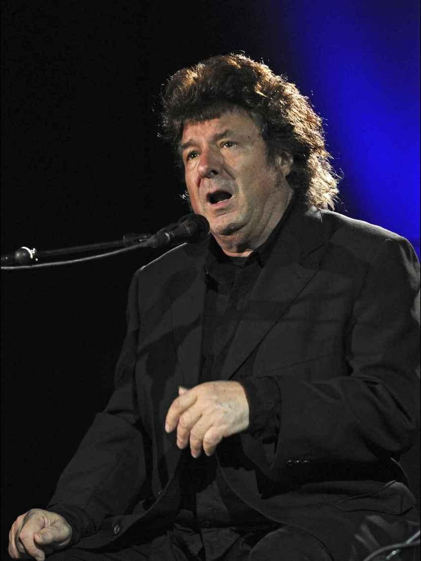 Enrique Morente, dos años antes de morir, en un concierto suyo.