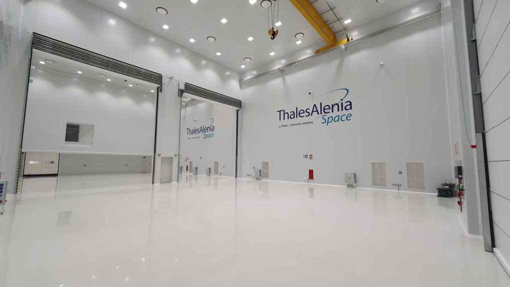 Sala de integración de Thales Alenia