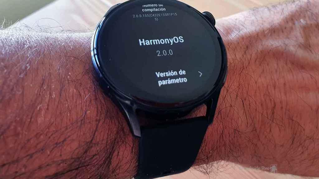 HarmonyOS 2 en el Huawei Watch 3