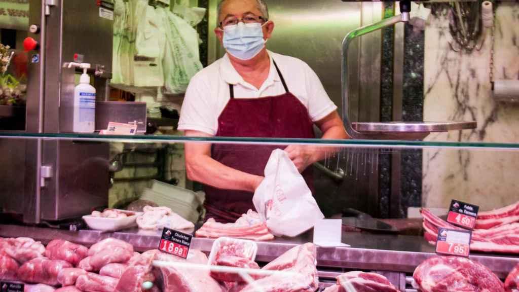 Teo, carnicero del Mercado de las Maravillas.