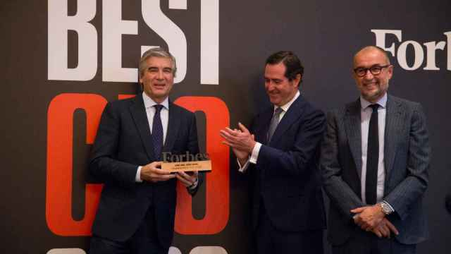 Gala de entrega del premio Forbes al mejor CEO 2021 a Francisco Reynés