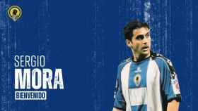 Carmelo elige a Sergio Mora para el banquillo del Hércules