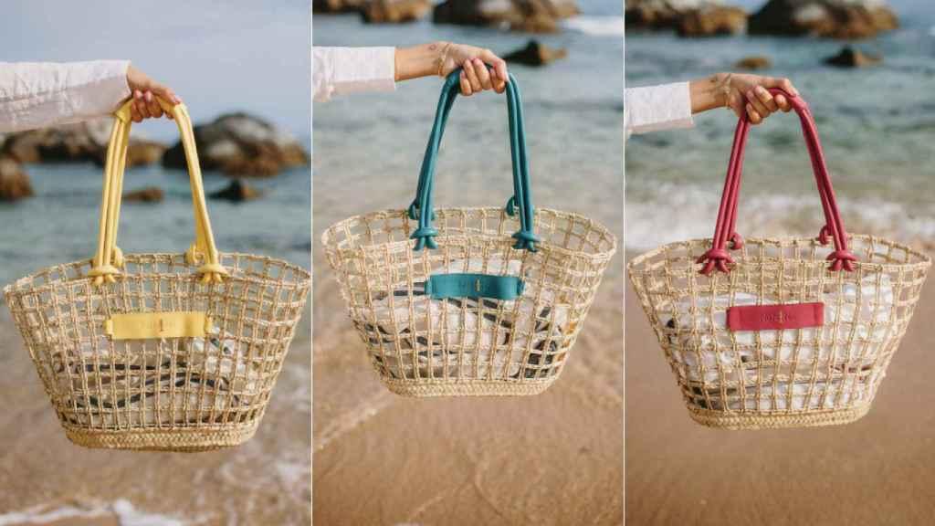 La cesta Atarraya en sus diferentes colores.
