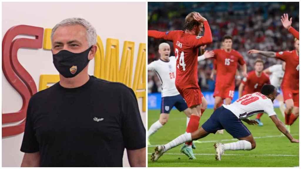 Mourinho y el penalti a Sterling