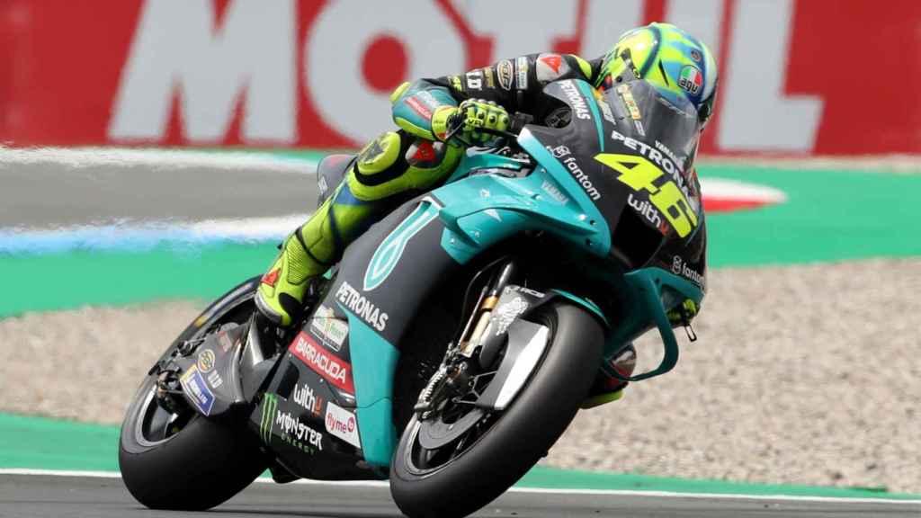 Valentino Rossi en el Gran Premio de Holanda en Assen